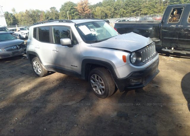 Inventory #576968711 2017 JEEP RENEGADE