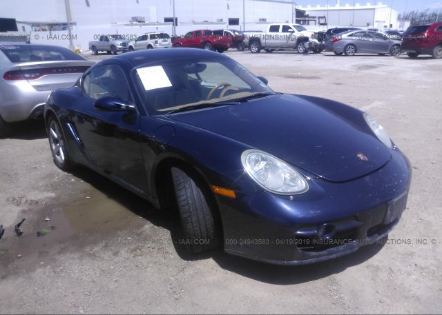 Bidding Ended On Wp0ab29878u780747 Salvage Porsche Cayman