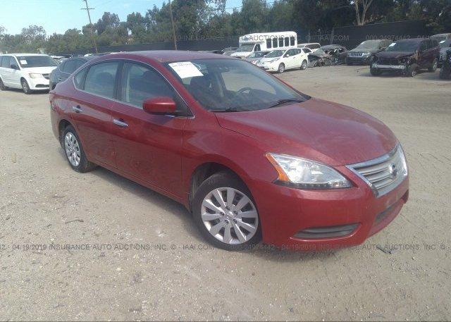 Inventory #411503334 2014 Nissan SENTRA