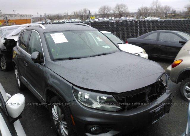 Inventory #603678576 2012 Volkswagen TIGUAN