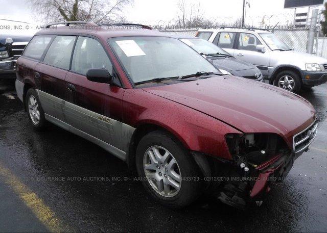 Inventory #571279589 2002 Subaru LEGACY