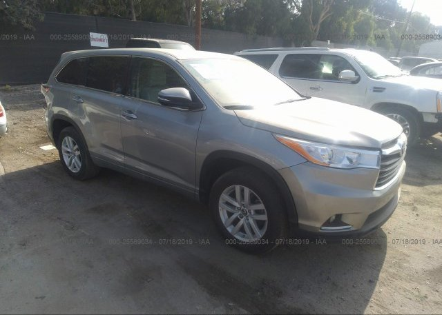 Inventory #359043352 2016 Toyota HIGHLANDER