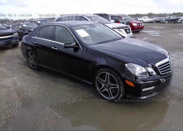 Inventory #677834536 2011 Mercedes-benz E