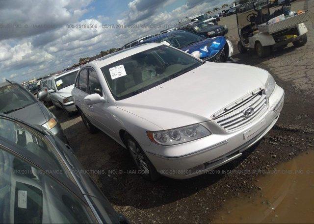 Inventory #363116696 2007 Hyundai AZERA
