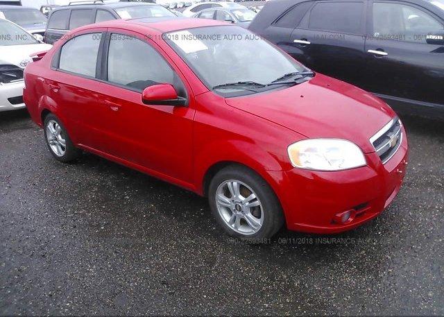 Inventory #663466406 2011 Chevrolet AVEO