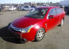 2008 FORD FOCUS - 1FAHP33N68W127163 Right View