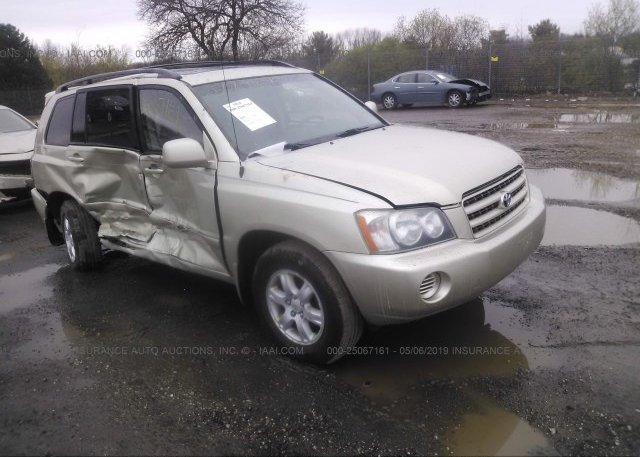 Inventory #374526778 2003 Toyota HIGHLANDER