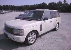 2004 Land Rover RANGE ROVER - SALME11414A145325 Right View