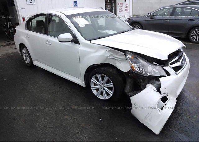 Inventory #105067762 2012 Subaru LEGACY