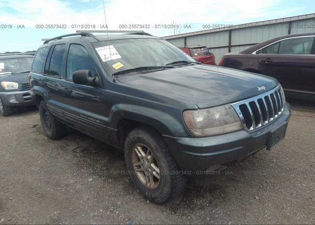 Inventory #660174065 2002 JEEP GRAND CHEROKEE