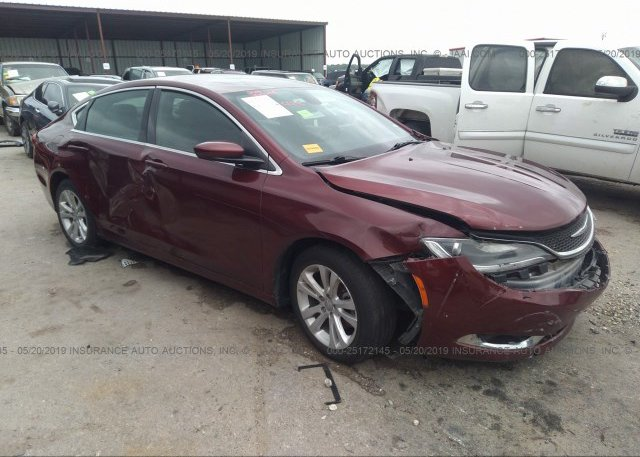 Inventory #608215173 2016 Chrysler 200