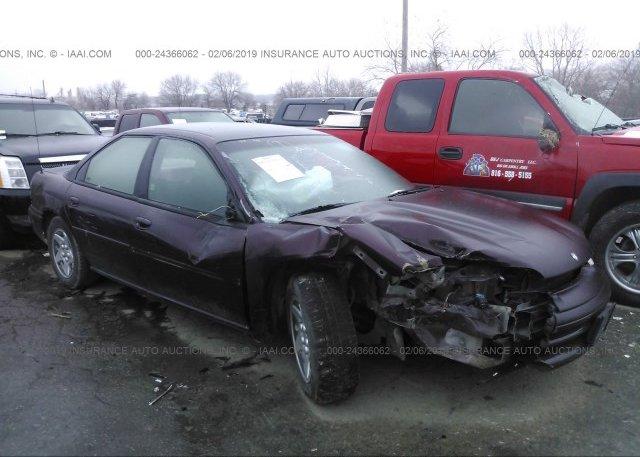 Inventory #150015591 1997 Dodge INTREPID