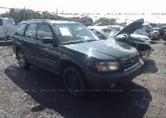 2005 Subaru FORESTER - JF1SG63635H746061 Left View