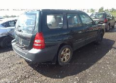 2005 Subaru FORESTER - JF1SG63635H746061 rear view