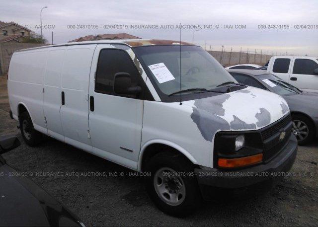Inventory #221166261 2003 Chevrolet EXPRESS G3500