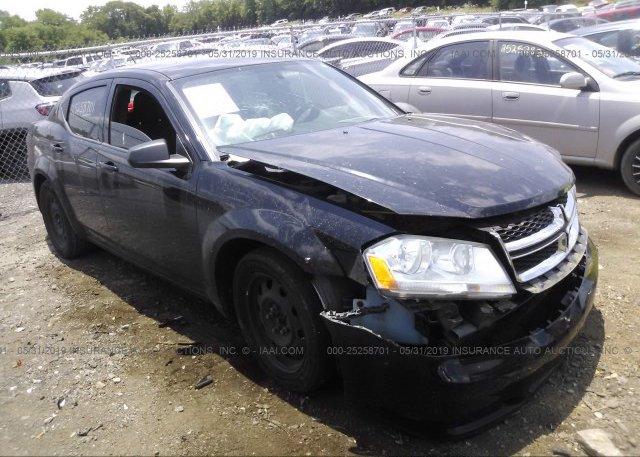 Inventory #923517700 2013 Dodge AVENGER
