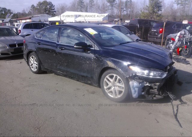 Inventory #183804377 2016 FORD FUSION
