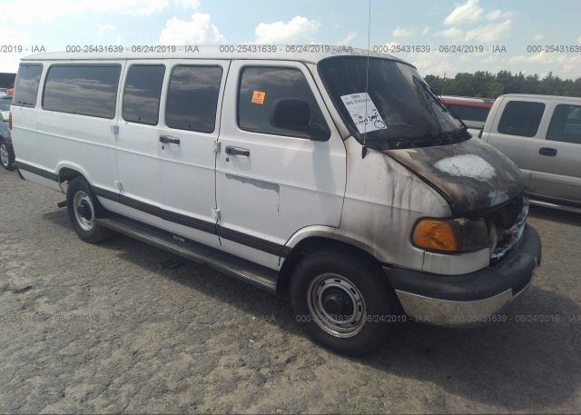 2B5WB35Z9WK144627, Parts Only - Bill Of Sale white Dodge Ram