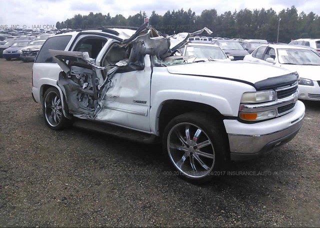 Inventory #762003525 2003 Chevrolet TAHOE