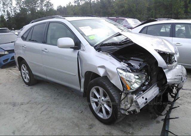 Inventory #660107167 2009 Lexus RX