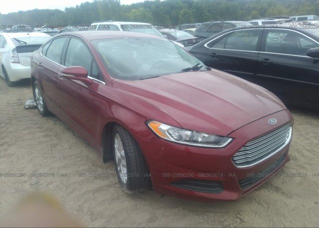 Inventory #932158858 2016 FORD FUSION