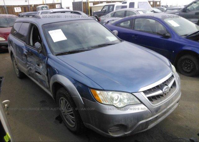 Inventory #806331608 2008 Subaru OUTBACK