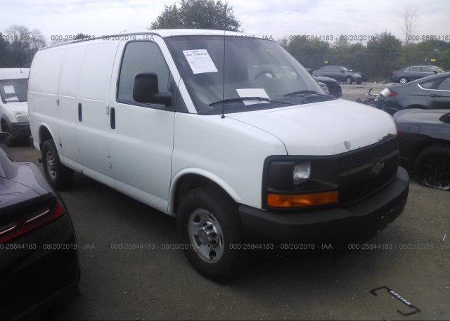 Inventory #990165320 2012 Chevrolet EXPRESS G2500