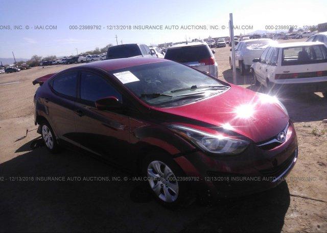 Inventory #715727688 2016 Hyundai ELANTRA