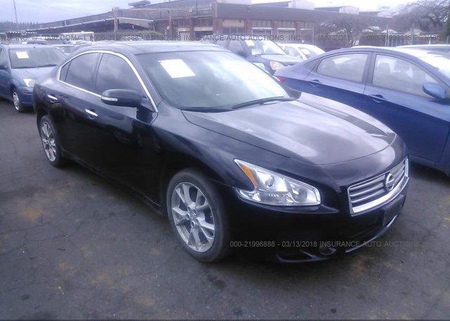 1n4aa5ap9dc847345 Bill Of Sale Black Nissan Maxima At Tukwila Wa