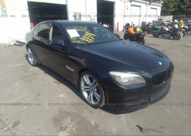 Inventory #763963201 2011 BMW 750