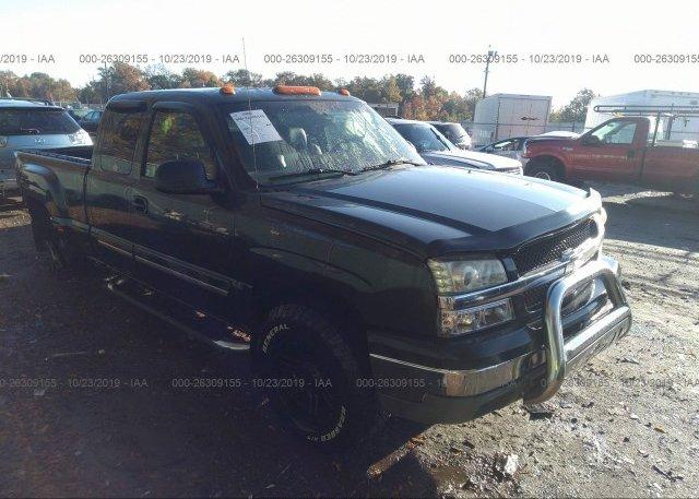 Inventory #363553106 2003 Chevrolet SILVERADO