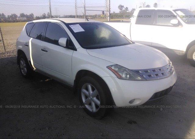 Jn8az08t95w329670 Clear White Nissan Murano At Rincon Ga On Online