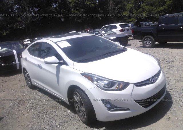 Inventory #955543417 2015 Hyundai ELANTRA