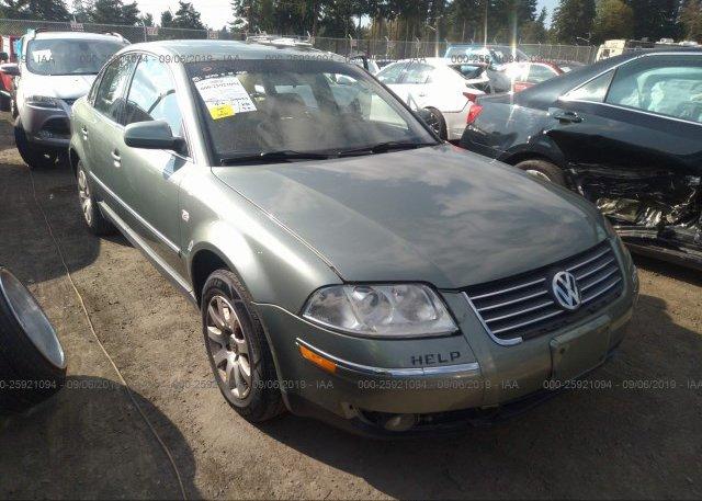 Inventory #885167752 2002 Volkswagen PASSAT