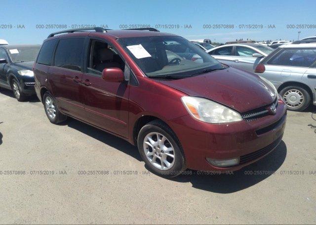 Inventory #929025396 2004 Toyota SIENNA