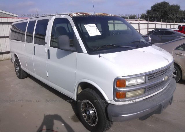 Inventory #848201537 2002 Chevrolet EXPRESS G3500