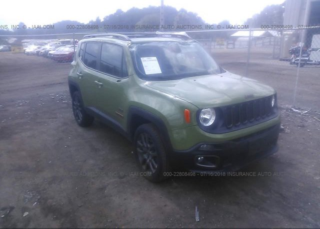 Inventory #611121841 2016 JEEP RENEGADE