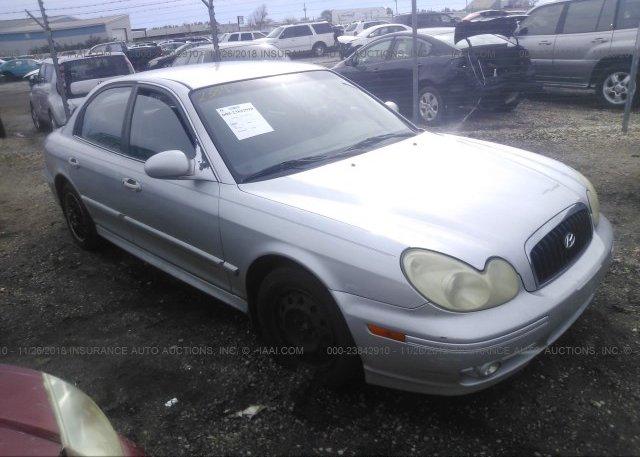 Inventory #130351523 2002 HYUNDAI SONATA