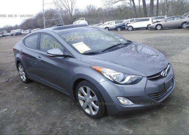 Inventory #349256110 2013 Hyundai ELANTRA