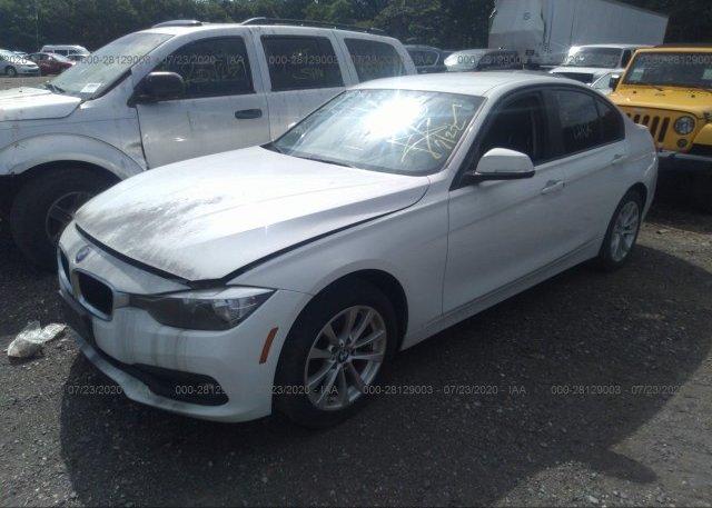 из сша 2017 BMW 3 SERIES WBA8E1G31HNU15768