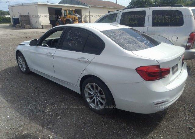 купить 2017 BMW 3 SERIES WBA8E1G31HNU15768