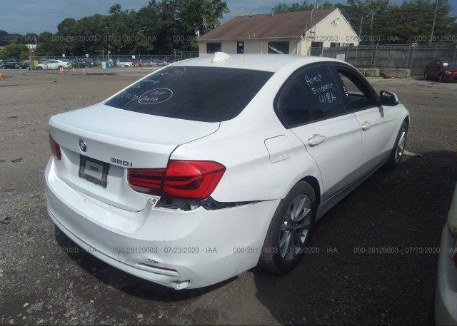 цена в сша 2017 BMW 3 SERIES WBA8E1G31HNU15768
