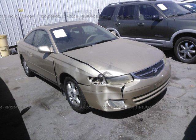 2000 Toyota CAMRY SOLARA   2T1CF22P2YC389839 X2 · 2000 ...
