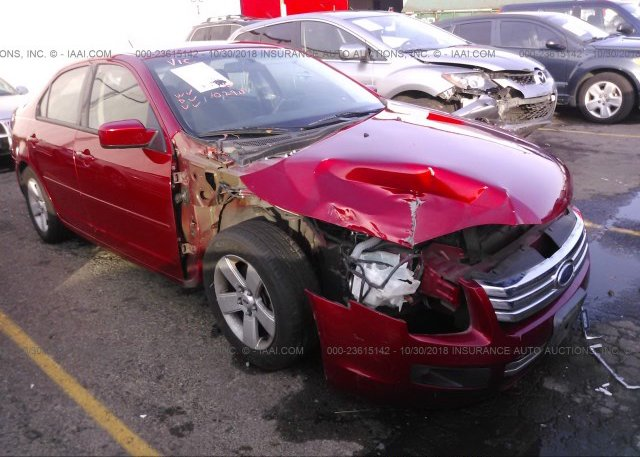 Inventory #715525921 2008 FORD FUSION