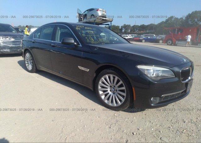 Inventory #447445748 2012 BMW 750