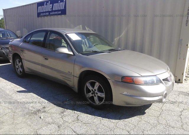 Inventory #361485511 2003 Pontiac BONNEVILLE