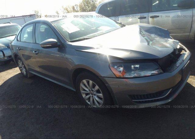Inventory #128457384 2012 Volkswagen PASSAT