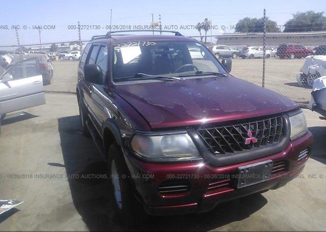 Inventory #750703780 2000 Mitsubishi MONTERO