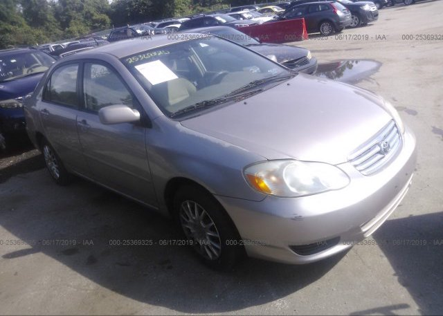 Inventory #103931252 2003 Toyota COROLLA