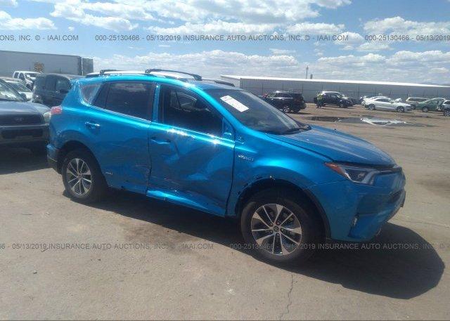 Inventory #804200258 2018 Toyota RAV4 HV